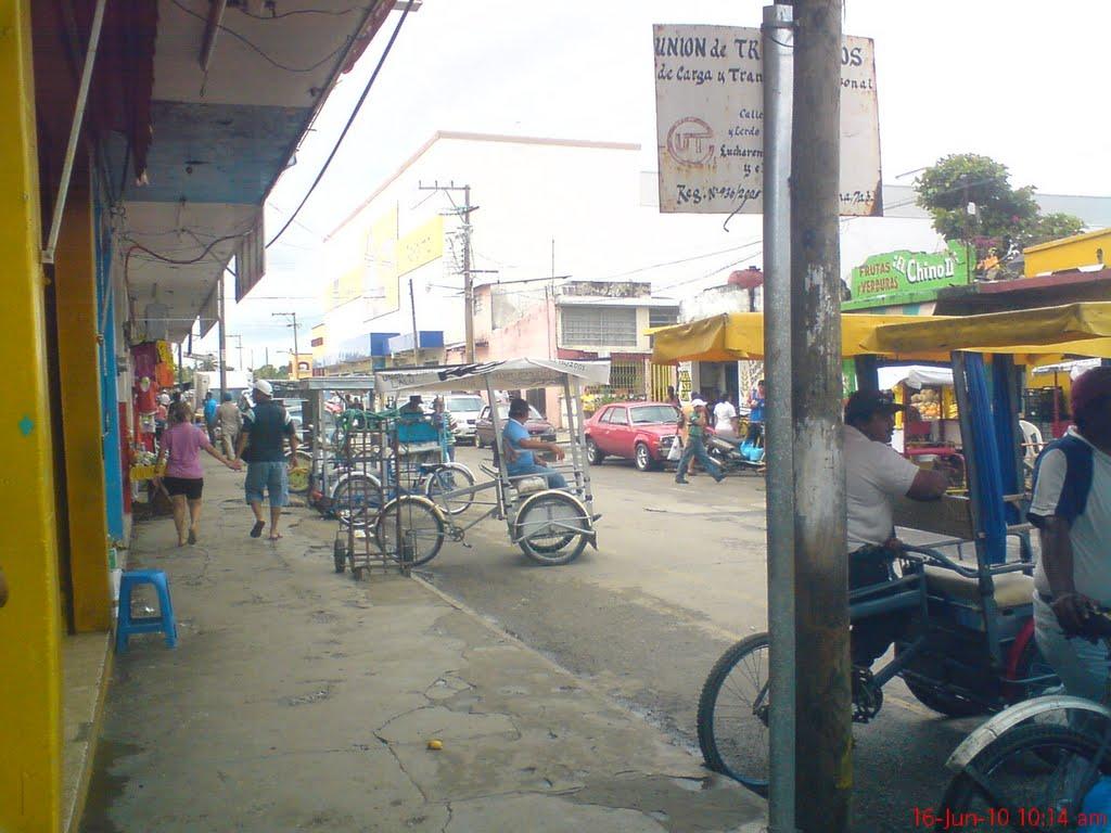 Calle Reforma Esq Lerdo de Tejada, Макуспана