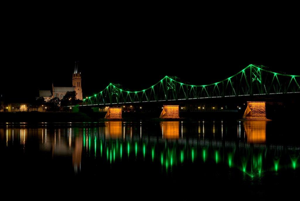 Włocławek, most, Влоцлавек