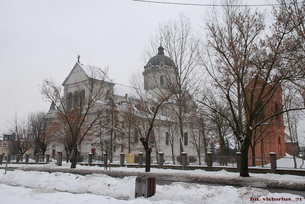 Włocławek - kościół św. Stanisława., Влоцлавек