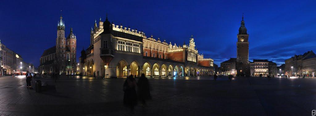 Rynek Główny - Kraków, Polska 2014, Краков (ш. им. Нарутауича)