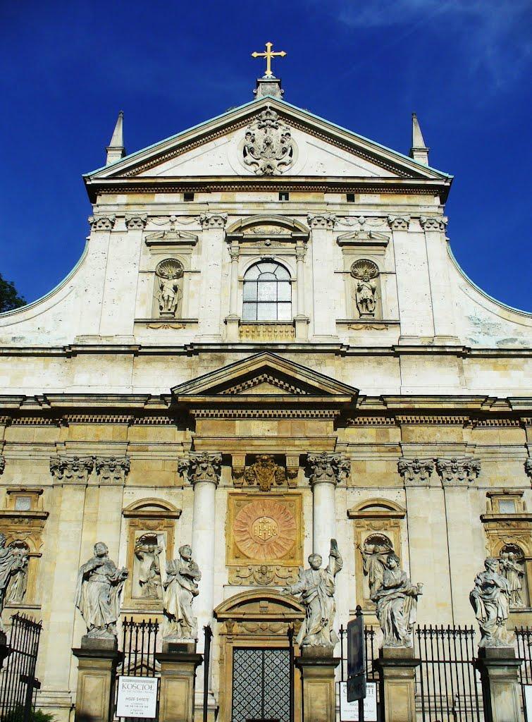 Kraków-Kościół Świętych Apostołow Piotra i Pawła/ Saints Peter and Paul Curch Paul/, Краков (ш. ул. Вроклавска)