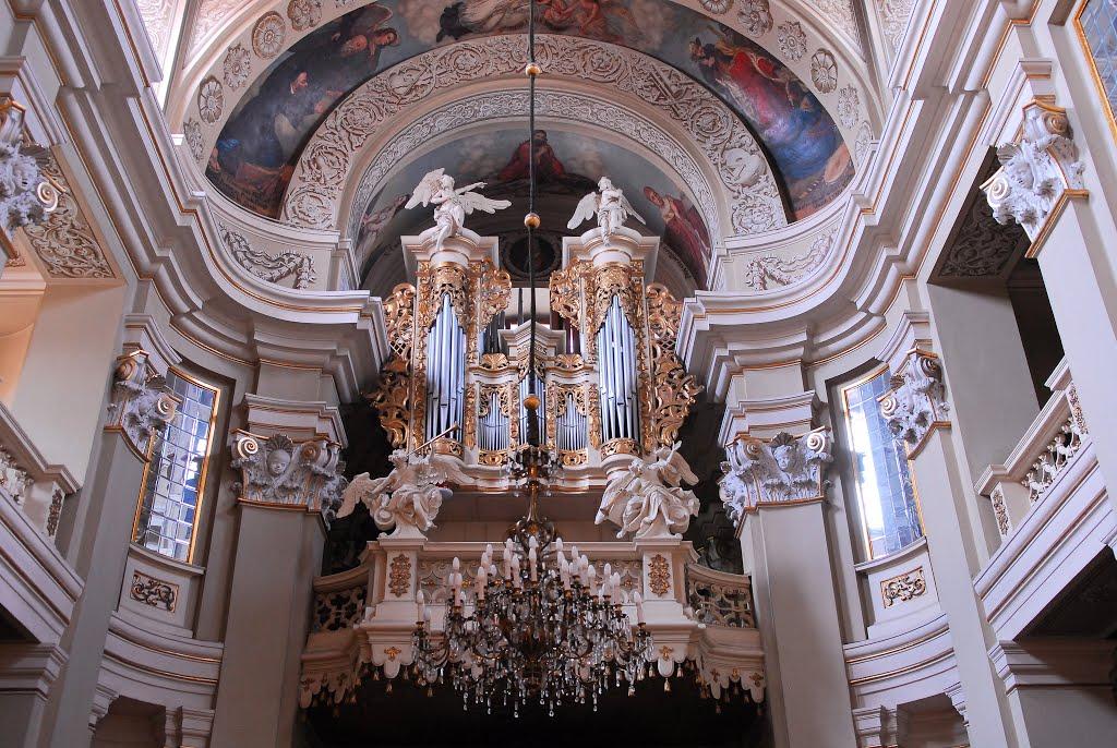 Kościół Nawrócenia św. Pawła w Krakowie.   Organ., Краков (ш. ул. Галла)