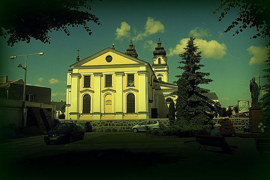 Kościół w Mławie, Млава