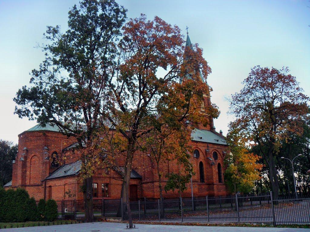 Marki,, Church S.Izydor, Остров-Мазовецки