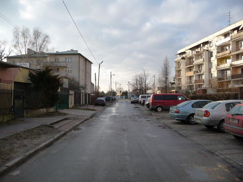 ul. Mieszka I 18 - zachód/west, Пьястов