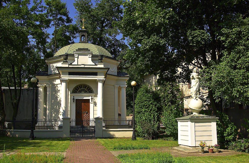Ogińskis Chapel, Седльце