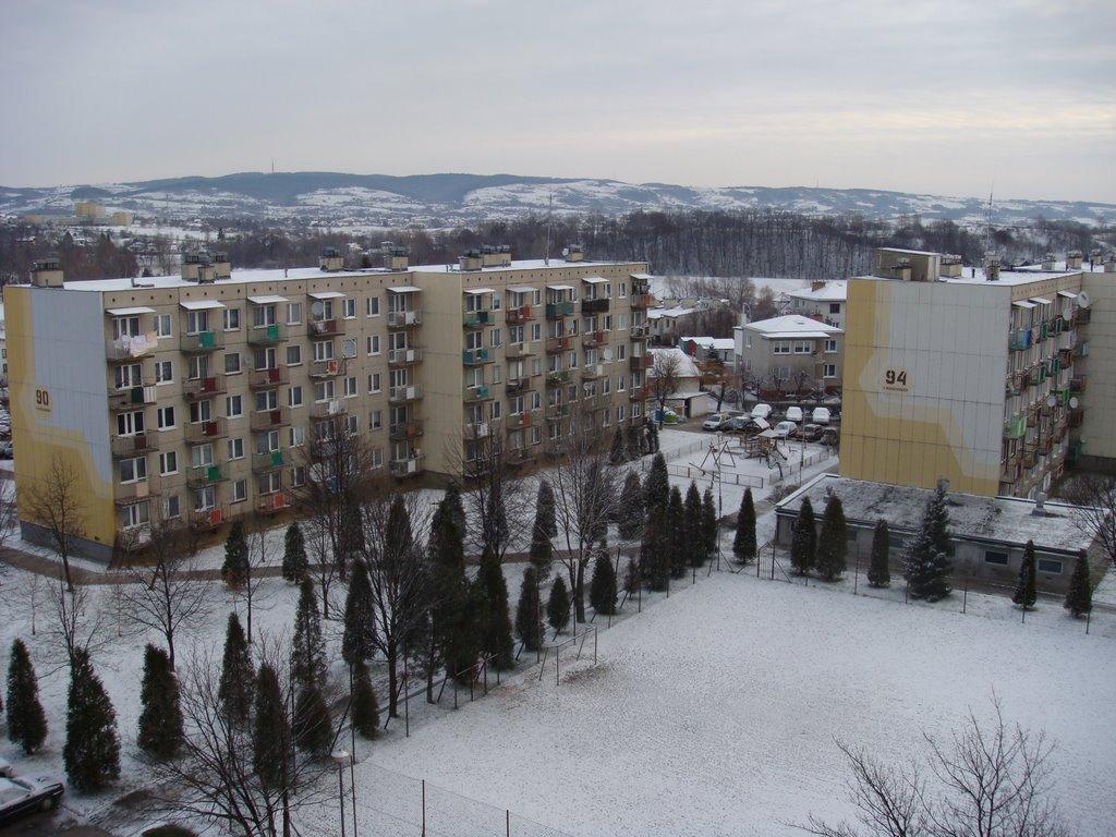 Osiedle w śniegu, Кросно