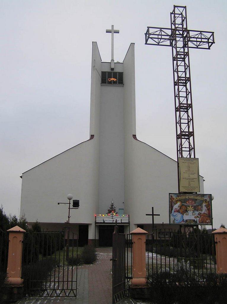 Tarnobrzeg - Kościół Św Barbary - 2008, Тарнобржег