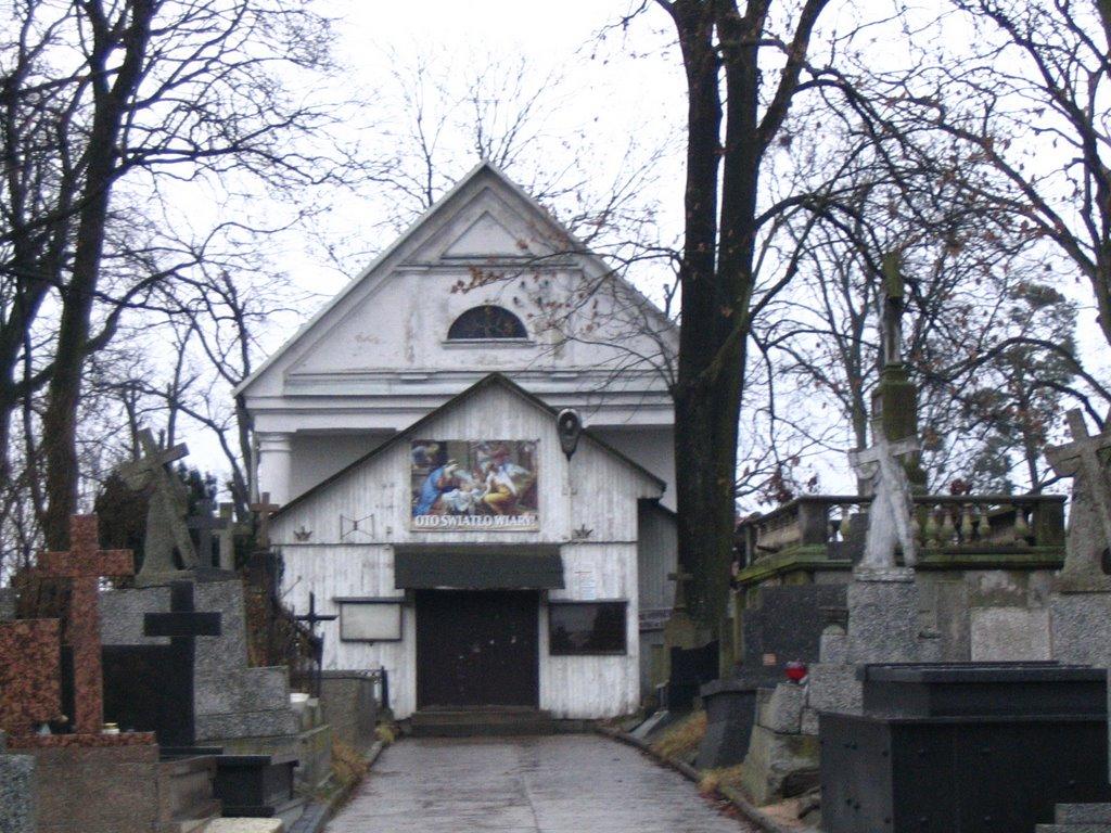 Bielsk Podlaski - neoklasycystyczna kaplica cmentarna pw. św. Wincentego à Paulo (neoclassicism cemetery chapel of St Vincent de Paul), Бельск Подласки