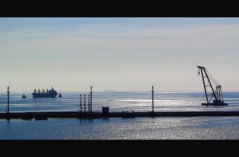 wyjście z portu, Гдыня