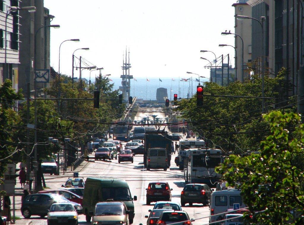 Gdynia Centrum ulica 10 Lutego, Гдыня
