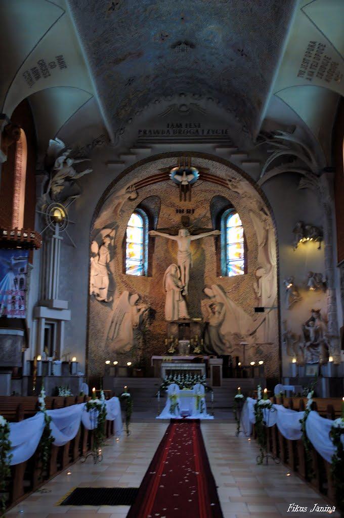 Kościół Matki Boskiej Bolesnej w Mysłowicach, Мысловице