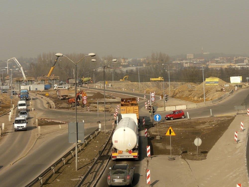 A1 węzeł Piekary - 03.2011, Руда-Сласка