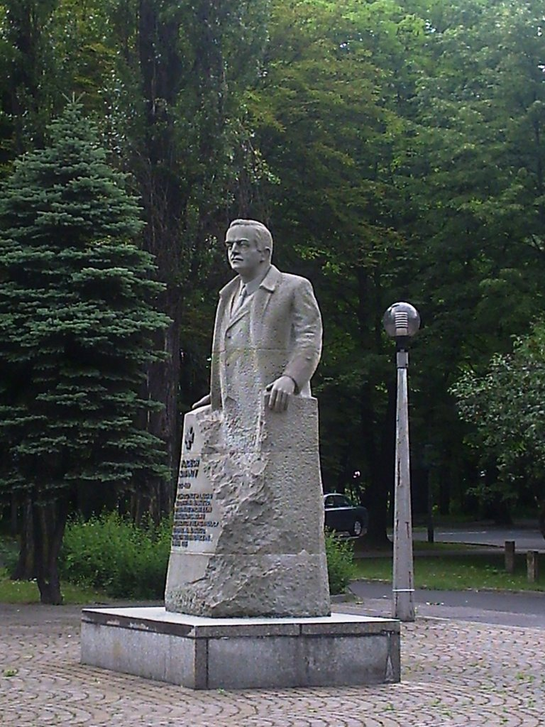 Pomnik Wojciecha Korfantego, Честохова