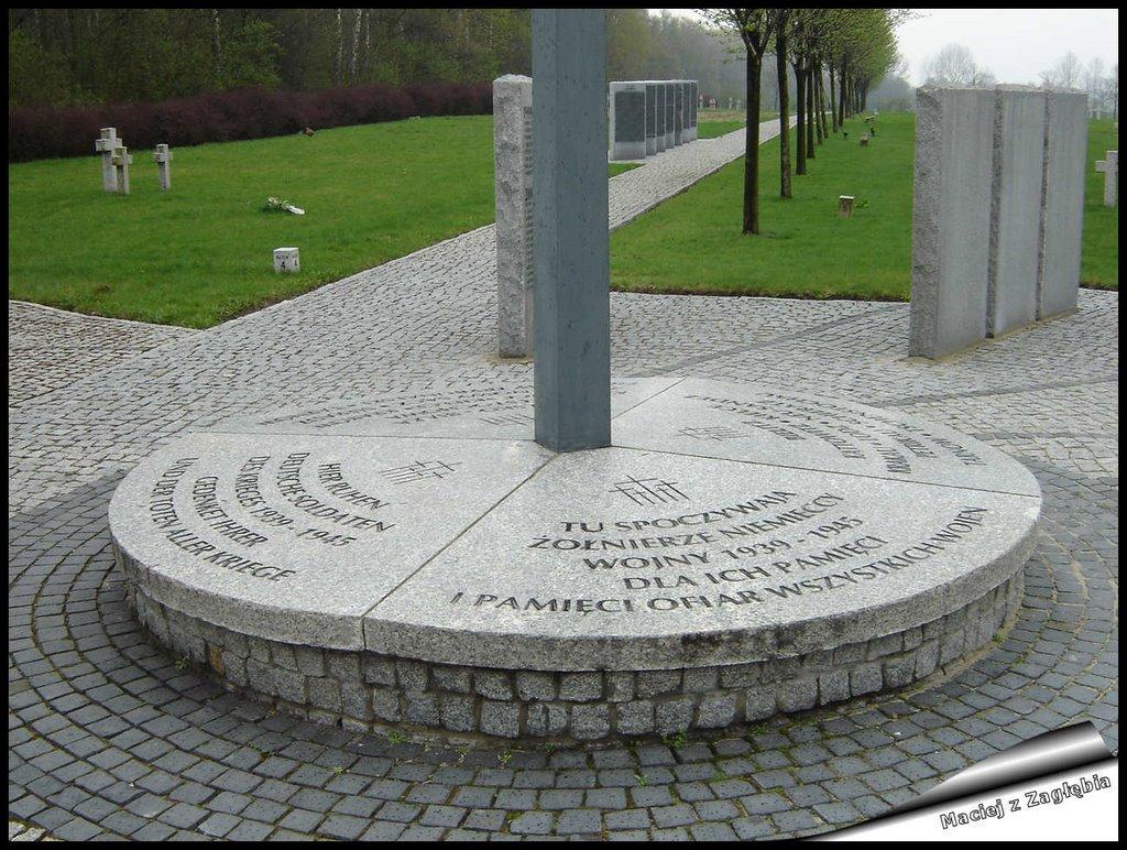 Cmentarz Żołnierzy Niemieckich - Deutscher Soldatenfriedhof Siemianowice 1939-1945, Честохова