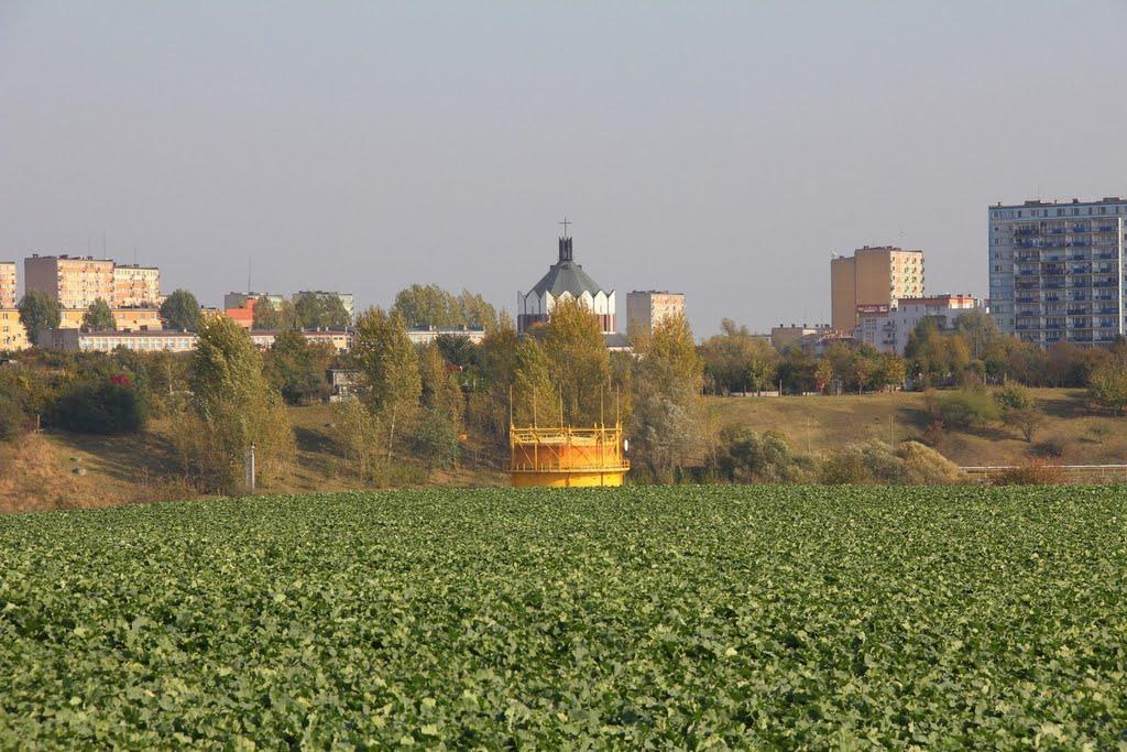 Koścół i zbiornik, Сандомерж