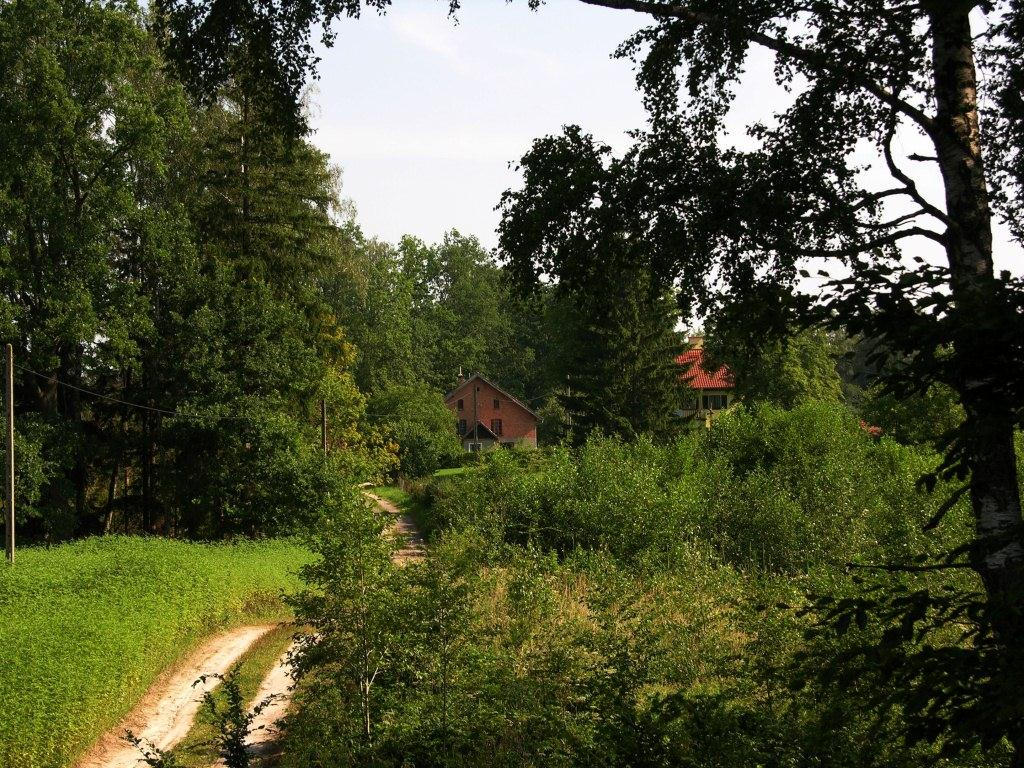 Widok w stronę  Domu myśliwskiego, Кетржин
