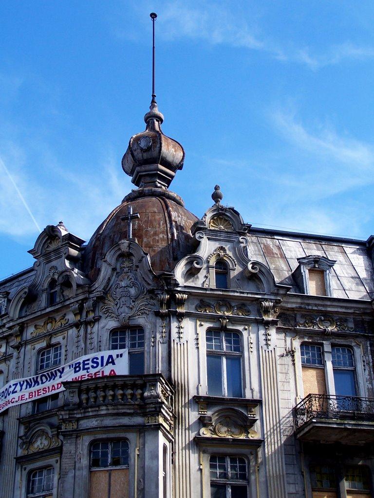 Olsztyn. Kamienica z 1905 roku przy placu Gen. Bema., Ольштын