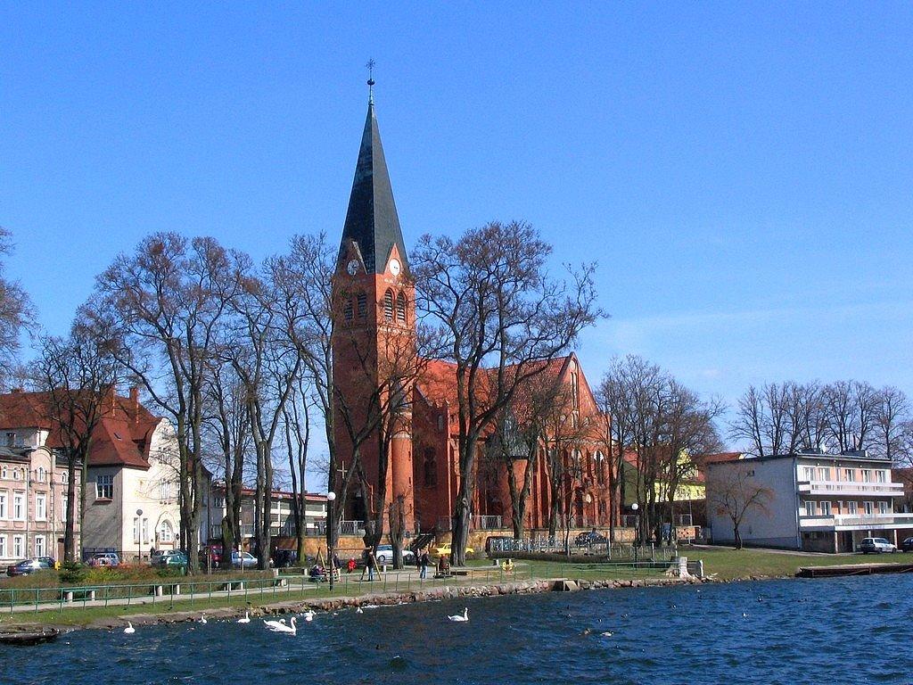 Wałcz, kościół św. Antoniego, Валч