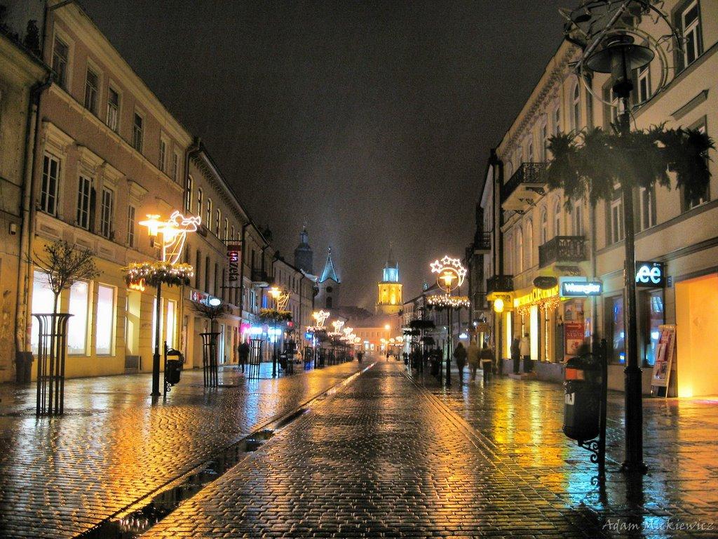 Lublin, ul.Krakowskie Przedmieście, Люблин