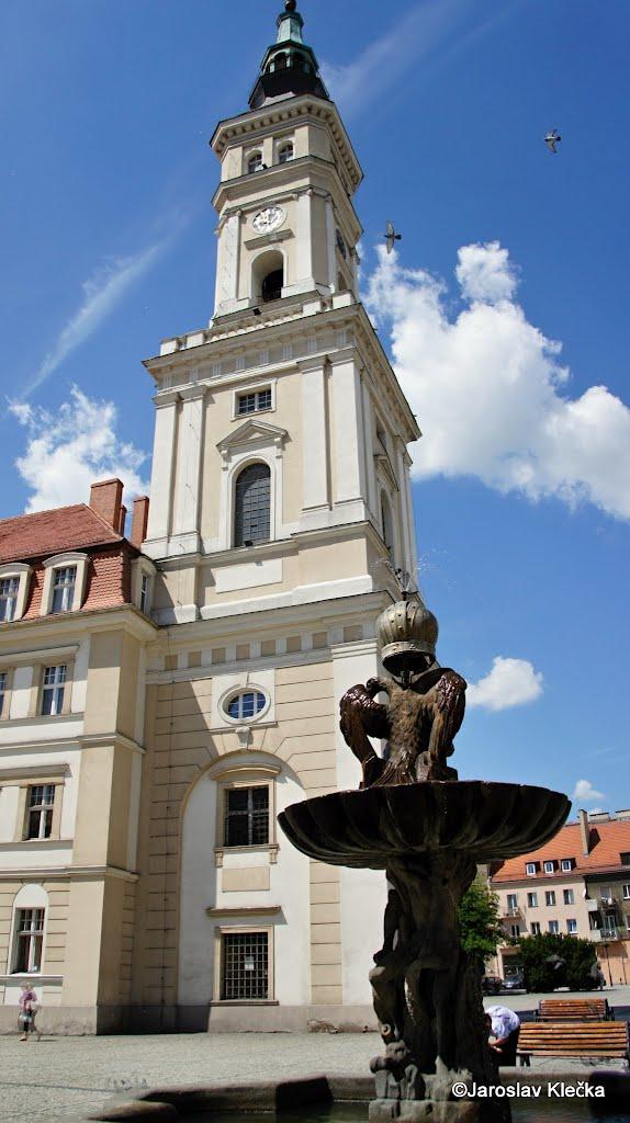 square in Prudnik, Прудник
