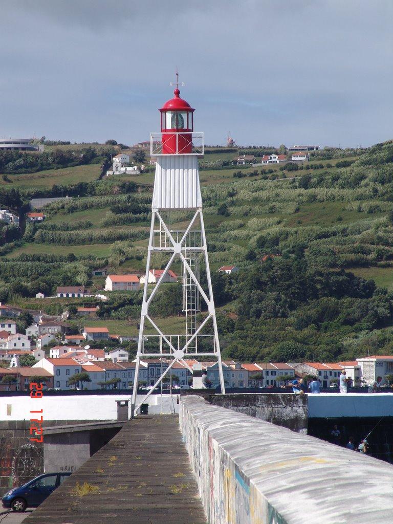 Farol da Ilha Faial - Horta - Açores Portugal - 38 32 1 00 - 28 37 17 02, Опорто