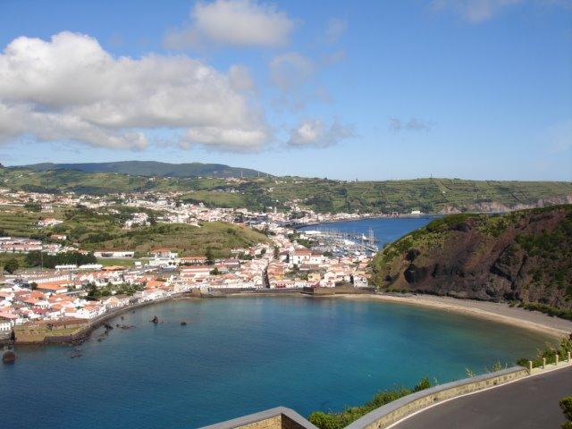 View to Angustias,praia do porto pim (Faial), Опорто