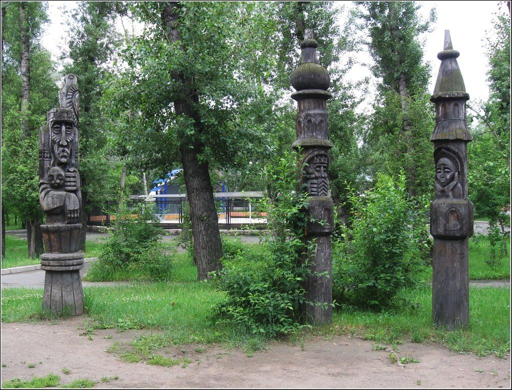 "В парке ""Орлёнок"", Абакан"