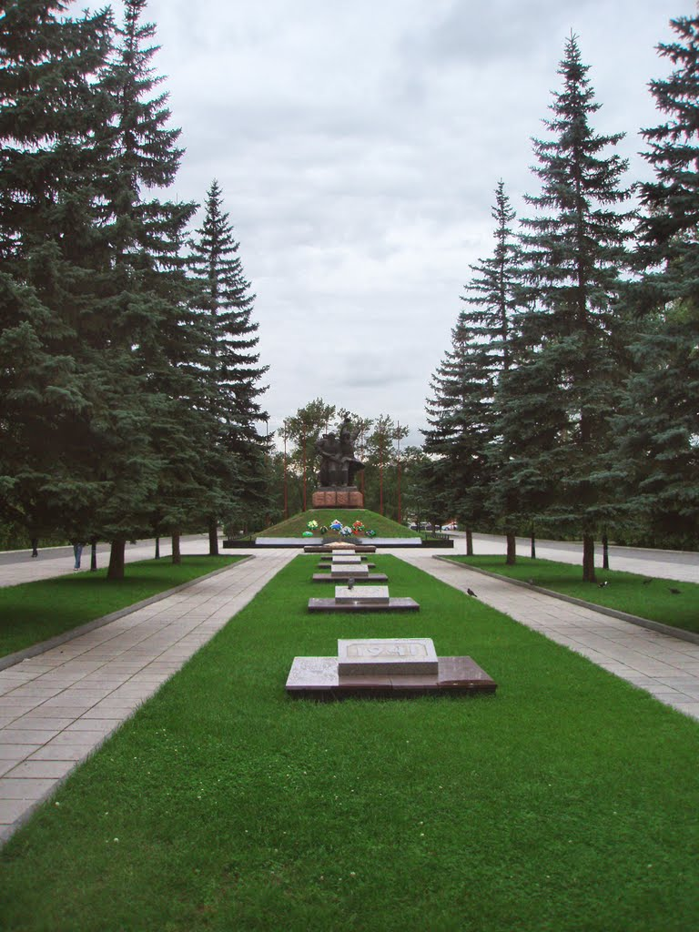 Monument to Military Glory, Абакан