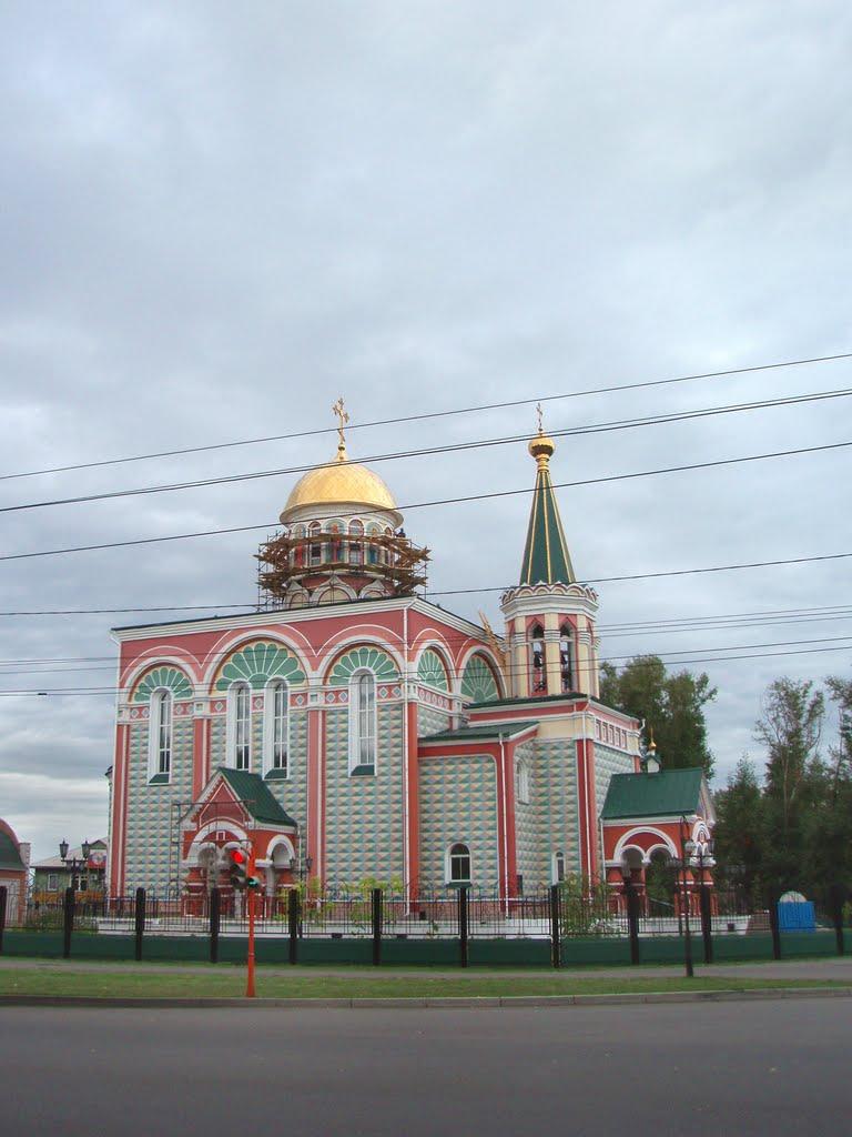 Church of Saints Helen and Constantine, Абакан
