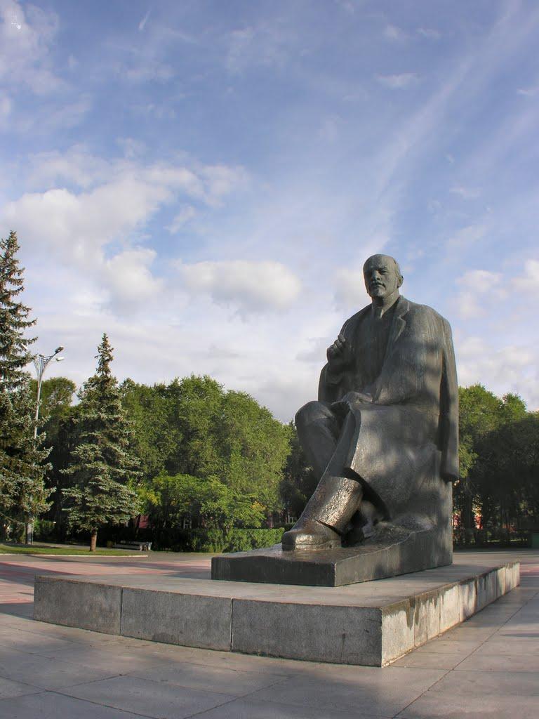 Monument to Lenin, Абакан