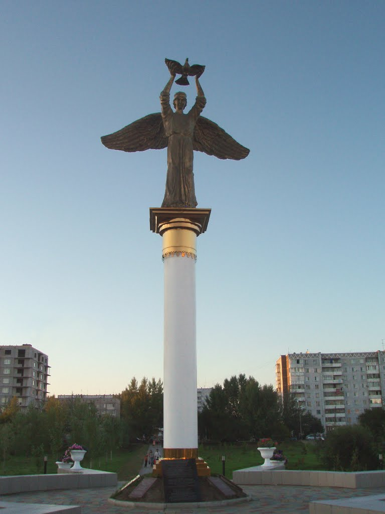 "Monument to Patrons ""Kind Angel of Peace"", Абакан"