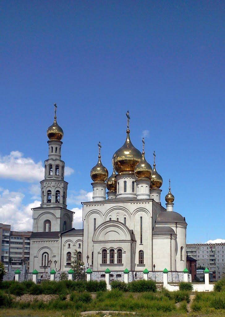 Преображенский собор  cathedral, Абакан