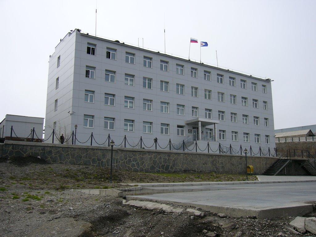 Chief of Chukotkas building, Анадырь