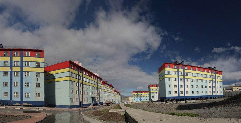 Анадырь, улица Отке., Анадырь