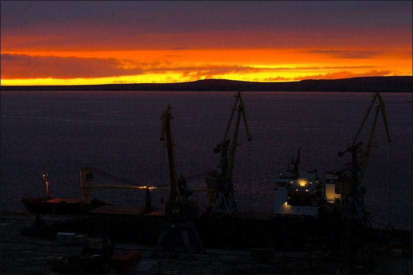 Anadyr port, Анадырь