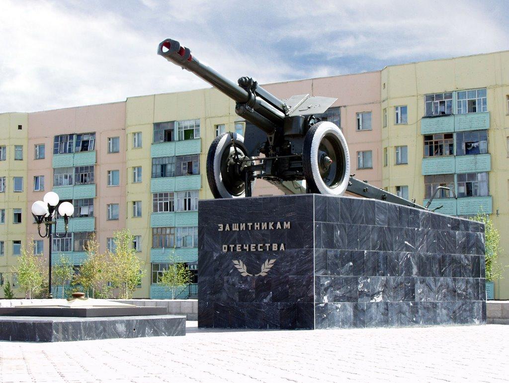 Памятник защитникам отечества, Покачи
