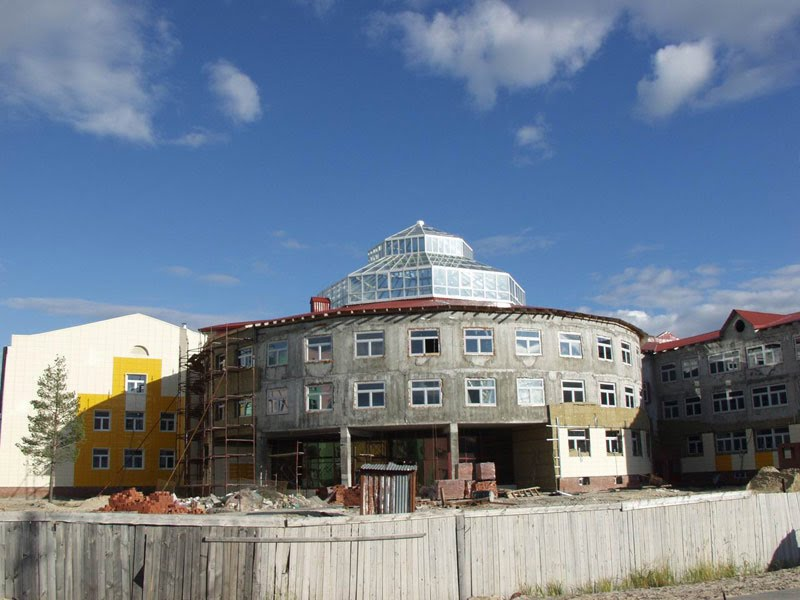 Строительство новой школы, Покачи