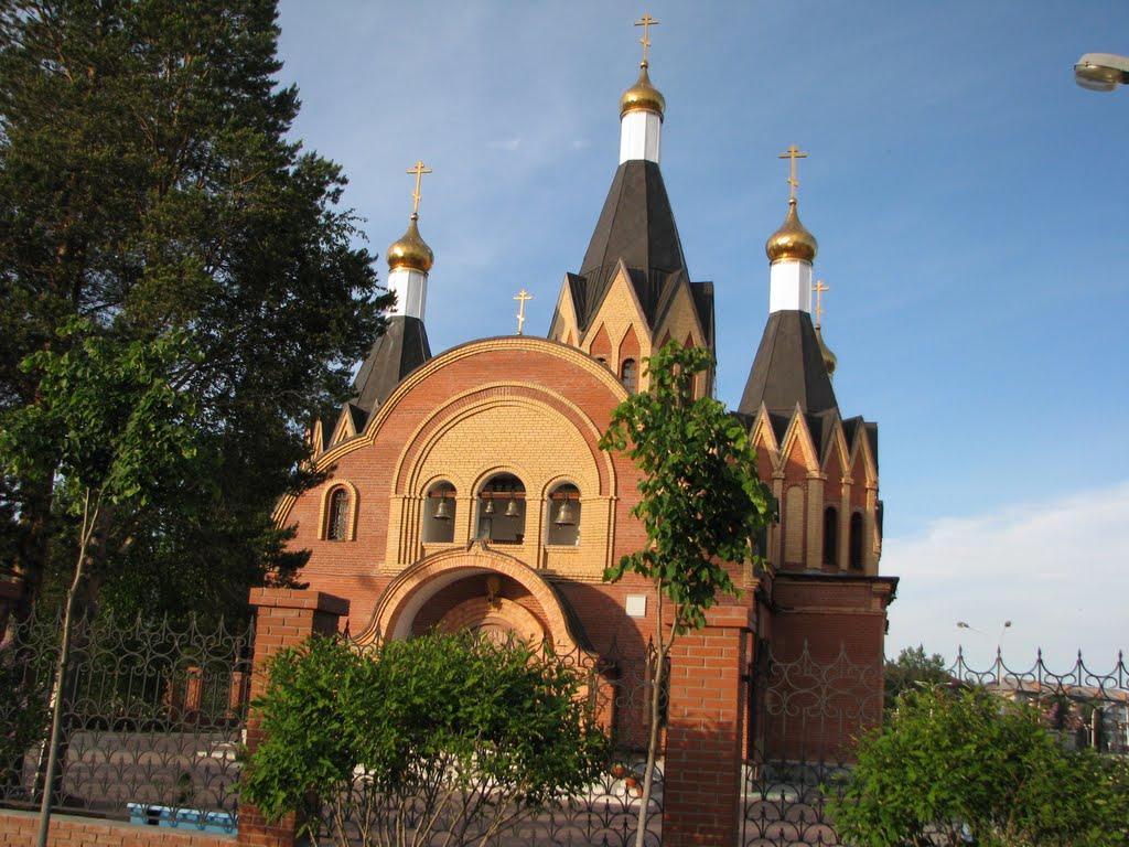 Храм в г. Урай 2009, Урай