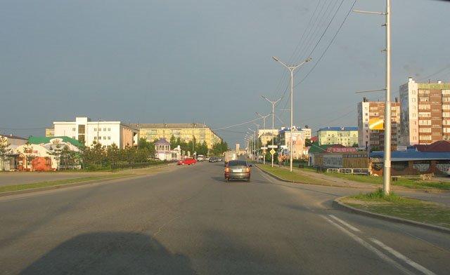 Центральная улица, Пыть-Ях