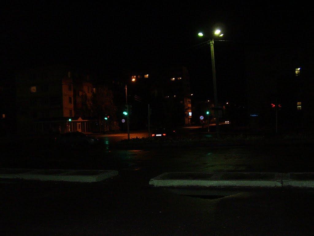 ночной город, Пыть-Ях