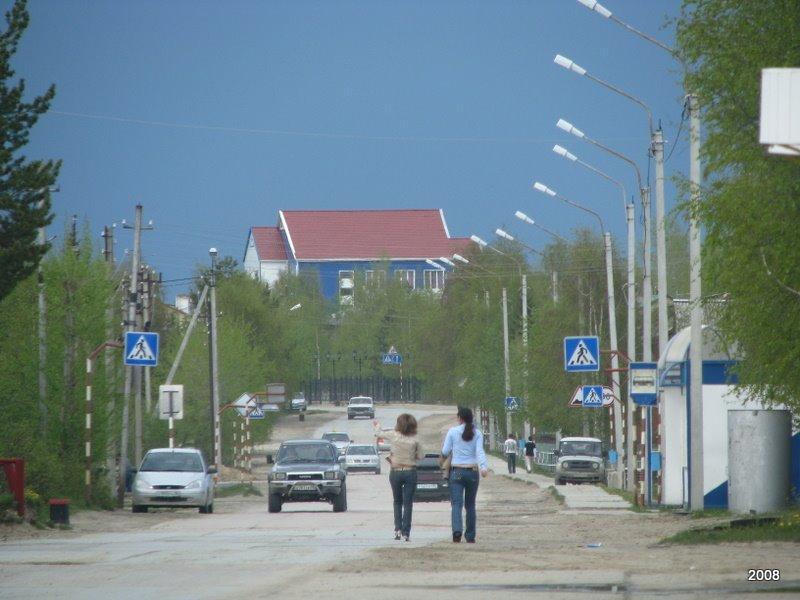 ул. Кооперативная (вид от памятника Г.Е.Собянину), Игрим