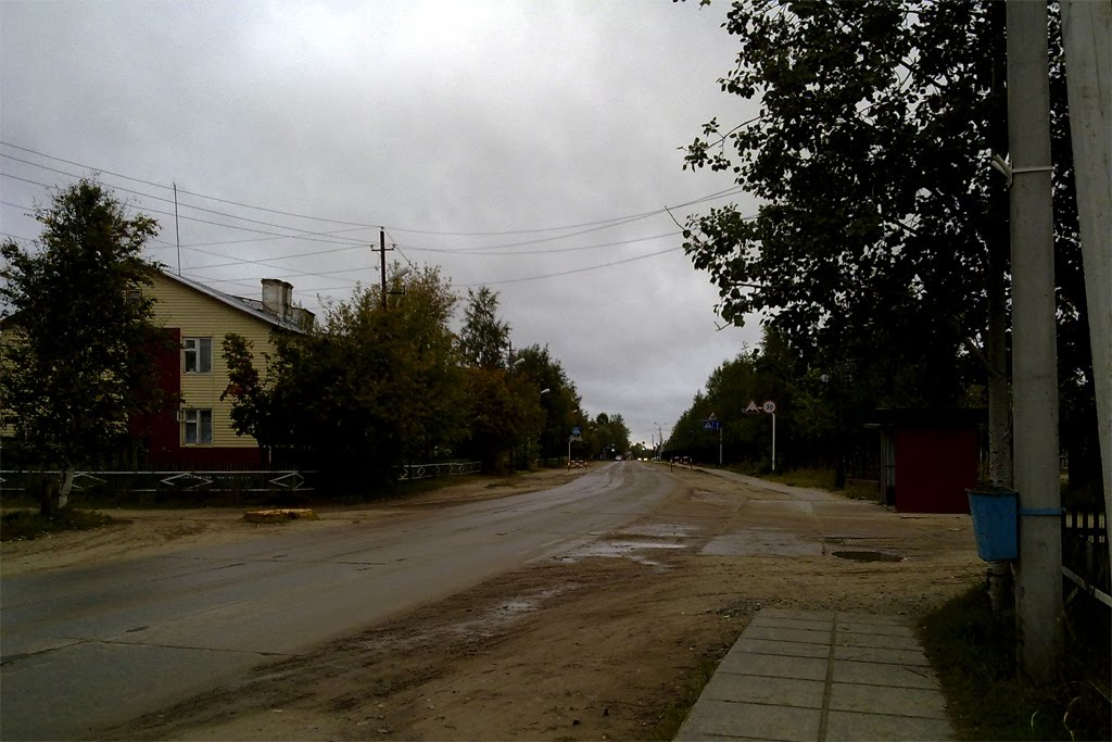 Возле первой школы., Игрим