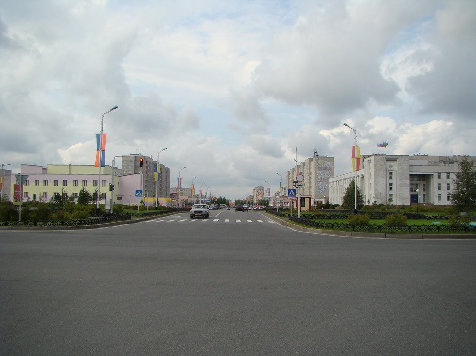 Главная улица города, Лангепас