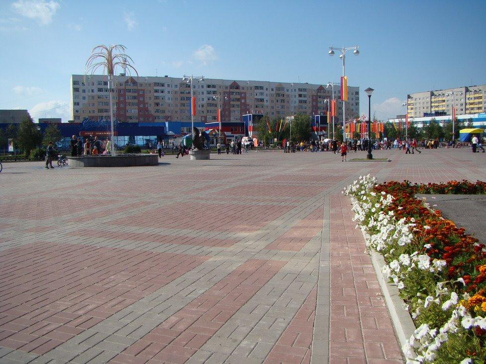 Городская площадь, Лангепас