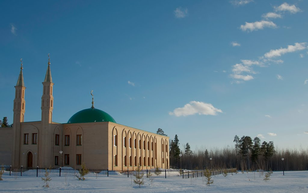 мечеть., Лангепас