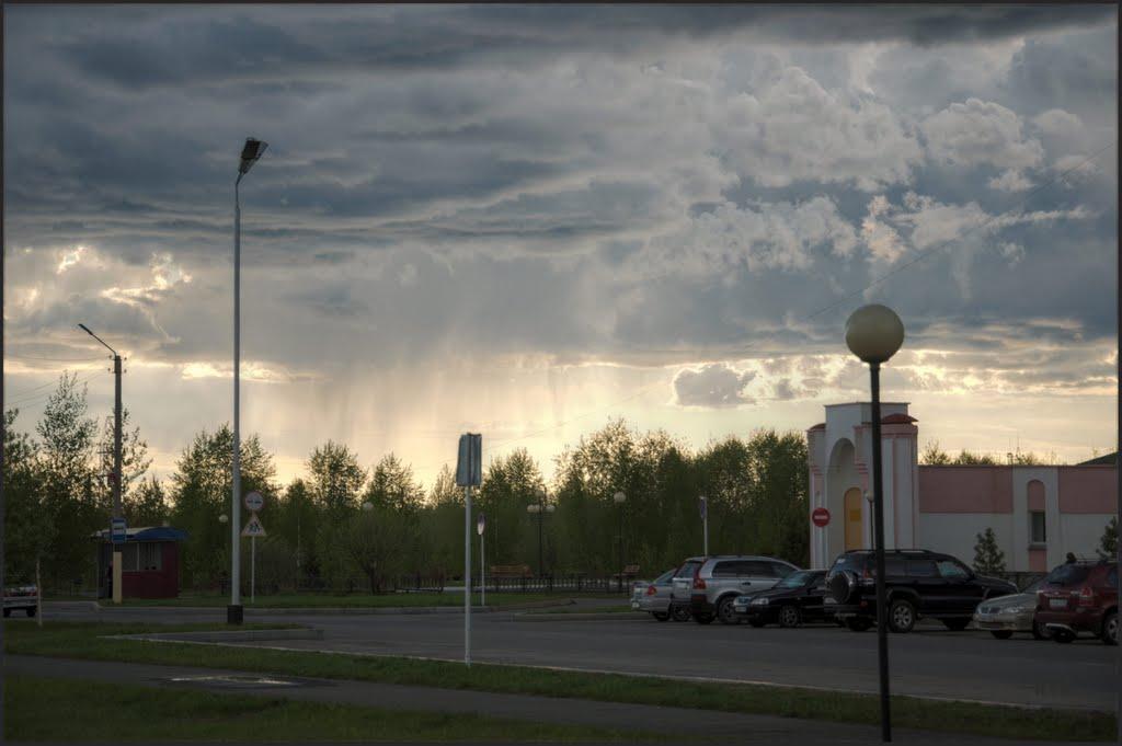 там идет дождь., Лангепас