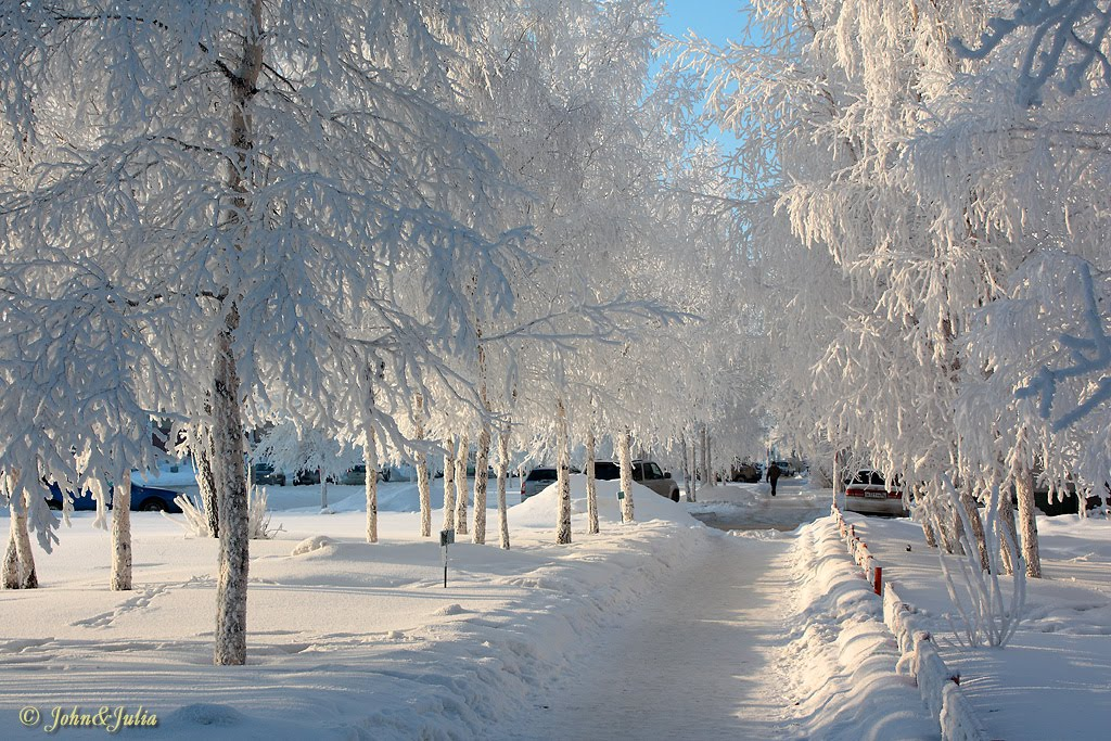 *** Winter of 2011 in Nizhnevartovsk ***, Нижневартовск