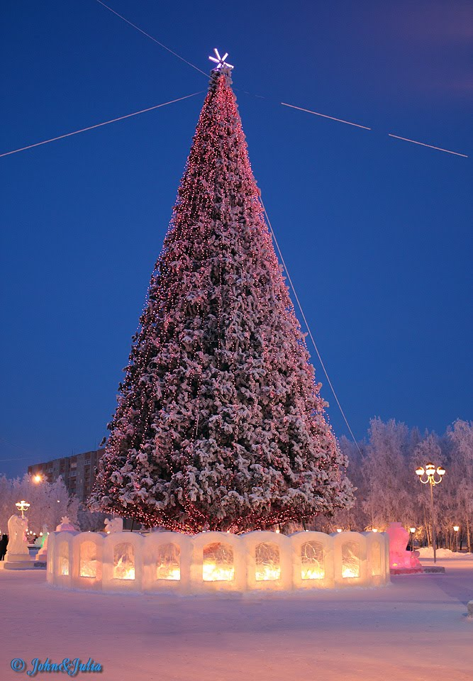 *** City New Years tree ***, Нижневартовск
