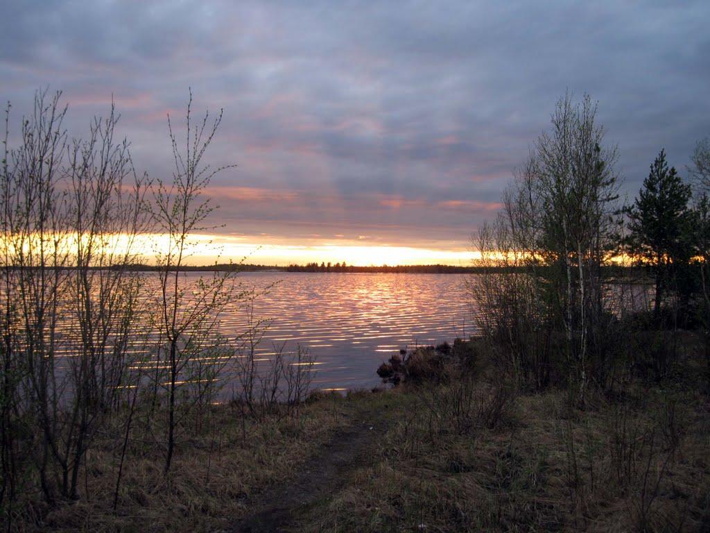 Озеро, Аган